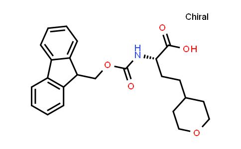 (S)-2-((((9H-Fluoren-9-yl)methoxy)carbonyl)amino)-4-(tetrahydro-2H-pyran-4-yl)butanoic acid