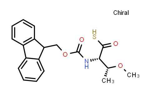 (2S,3R)-2-((((9H-Fluoren-9-yl)methoxy)carbonyl)amino)-3-methoxybutanethioic S-acid