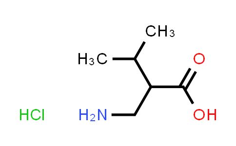 2-(Aminomethyl)-3-methylbutanoic acid hydrochloride