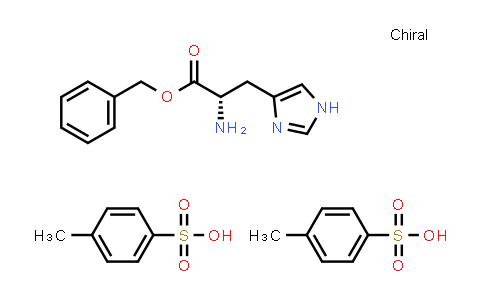 (S)-Benzyl 2-amino-3-(1H-imidazol-4-yl)propanoate bis(4-methylbenzenesulfonate)