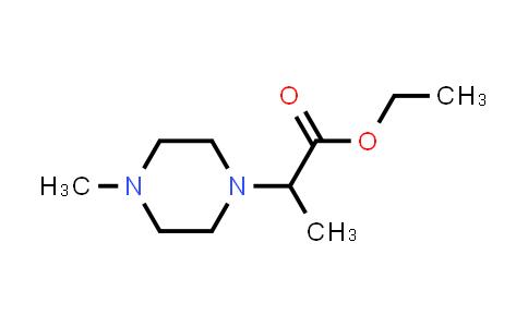 Ethyl 2-(4-methylpiperazin-1-yl)propanoate