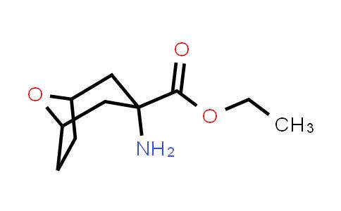 Ethyl 3-amino-8-oxabicyclo[3.2.1]octane-3-carboxylate