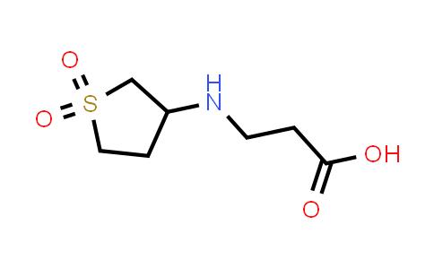 3-((1,1-Dioxidotetrahydrothiophen-3-yl)amino)propanoic acid