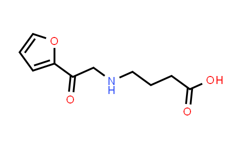 4-((2-(Furan-2-yl)-2-oxoethyl)amino)butanoic acid