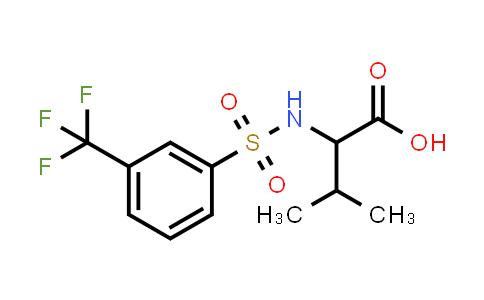 3-Methyl-2-(3-(trifluoromethyl)phenylsulfonamido)butanoic acid