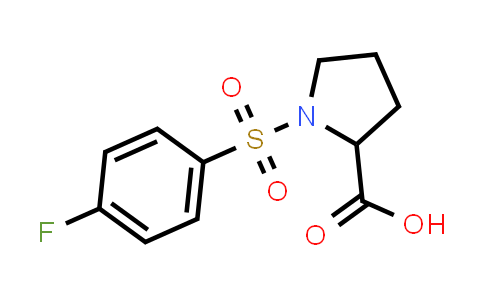 1-((4-Fluorophenyl)sulfonyl)pyrrolidine-2-carboxylic acid