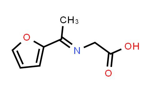 2-((1-(Furan-2-yl)ethylidene)amino)acetic acid