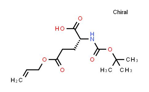 (R)-5-(Allyloxy)-2-((tert-butoxycarbonyl)amino)-5-oxopentanoic acid