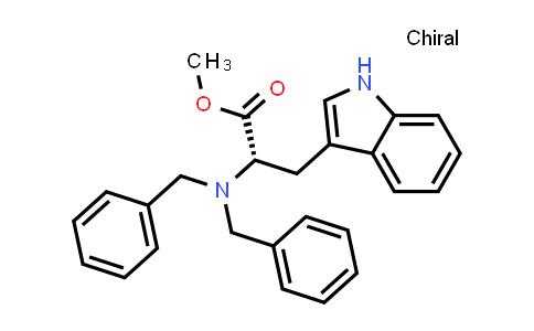 Methyl Na,Na-dibenzyl-L-tryptophanate