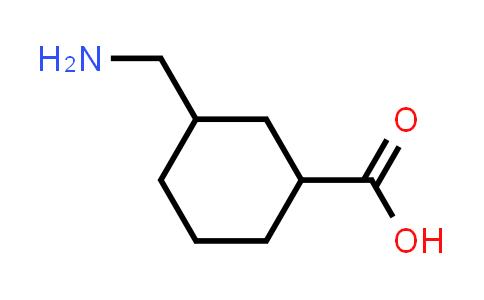3-(Aminomethyl)cyclohexanecarboxylic acid