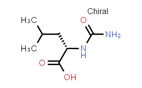 (S)-4-Methyl-2-ureidopentanoic acid