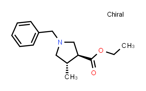 trans-Ethyl 1-benzyl-4-methylpyrrolidine-3-carboxylate