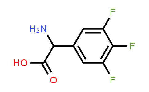 2-Amino-2-(3,4,5-trifluorophenyl)acetic acid