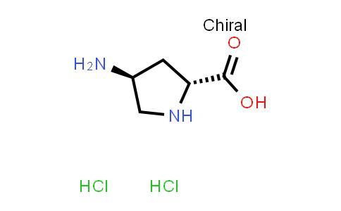 (2R,4S)-4-Aminopyrrolidine-2-carboxylic acid dihydrochloride