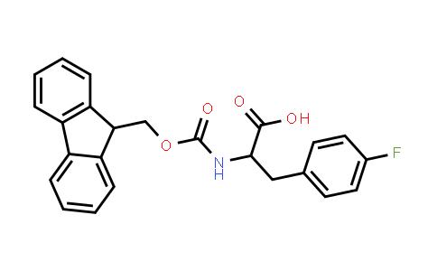 2-((((9H-Fluoren-9-yl)methoxy)carbonyl)amino)-3-(4-fluorophenyl)propanoic acid