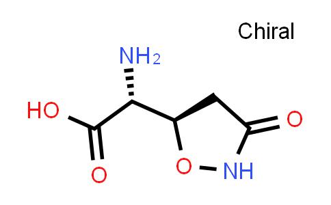 (R)-2-Amino-2-((R)-3-oxoisoxazolidin-5-yl)acetic acid