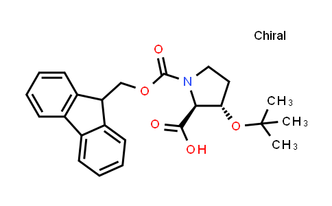 (2S,3S)-1-(((9H-Fluoren-9-yl)methoxy)carbonyl)-3-(tert-butoxy)pyrrolidine-2-carboxylic acid