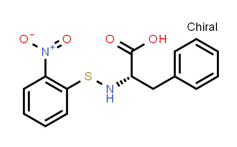 (S)-2-(((2-Nitrophenyl)thio)amino)-3-phenylpropanoic acid