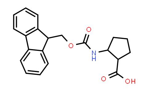 2-((((9H-Fluoren-9-yl)methoxy)carbonyl)amino)cyclopentanecarboxylic acid