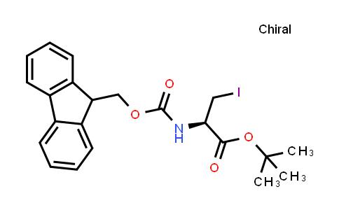 (R)-tert-Butyl 2-((((9H-fluoren-9-yl)methoxy)carbonyl)amino)-3-iodopropanoate