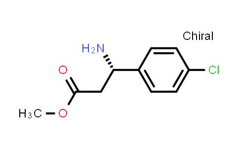 (S)-Methyl 3-amino-3-(4-chlorophenyl)propanoate