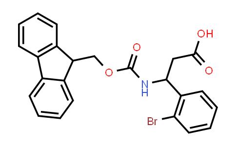 3-((((9H-Fluoren-9-yl)methoxy)carbonyl)amino)-3-(2-bromophenyl)propanoic acid