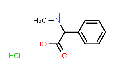 2-(Methylamino)-2-phenylacetic acid hydrochloride