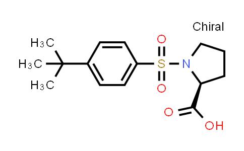 (S)-1-((4-(tert-Butyl)phenyl)sulfonyl)pyrrolidine-2-carboxylic acid