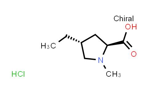 (2S,4R)-4-Ethyl-1-methylpyrrolidine-2-carboxylic acid hydrochloride