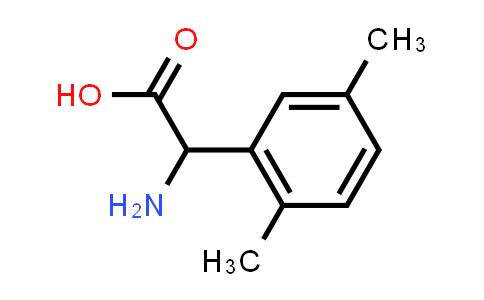 2-Amino-2-(2,5-dimethylphenyl)acetic acid