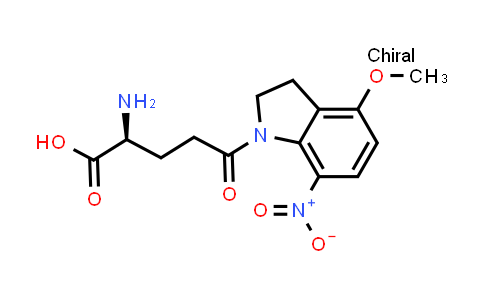 (S)-2-Amino-5-(4-methoxy-7-nitroindolin-1-yl)-5-oxopentanoic acid