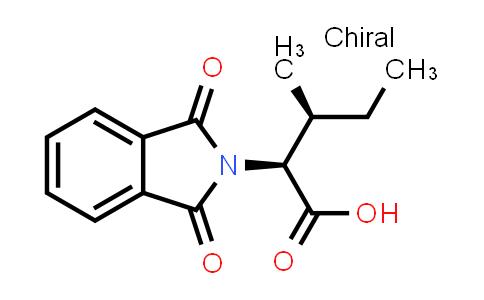 (2S,3S)-2-(1,3-Dioxoisoindolin-2-yl)-3-methylpentanoic acid