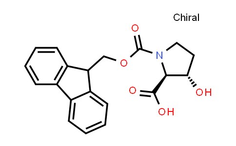 (2S,3S)-1-(((9H-Fluoren-9-yl)methoxy)carbonyl)-3-hydroxypyrrolidine-2-carboxylic acid