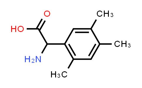 2-Amino-2-(2,4,5-trimethylphenyl)acetic acid