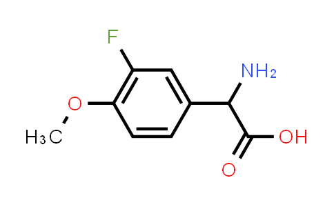 2-(3-Fluoro-4-methoxyphenyl)-DL-glycine