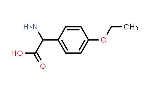 2-Amino-2-(4-ethoxyphenyl)acetic acid