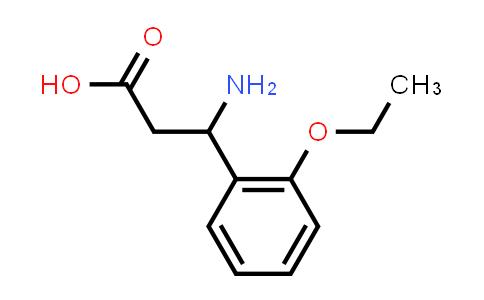 3-Amino-3-(2-ethoxyphenyl)propanoic acid