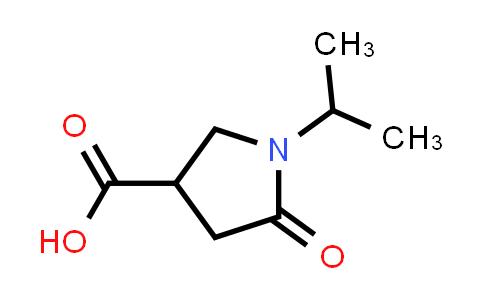 1-Isopropyl-2-oxopyrrolidine-4-carboxylic Acid