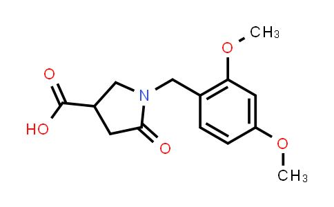1-(2,4-Dimethoxybenzyl)-5-oxopyrrolidine-3-carboxylic acid