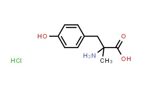 2-Amino-3-(4-hydroxyphenyl)-2-methylpropanoic acid hydrochloride