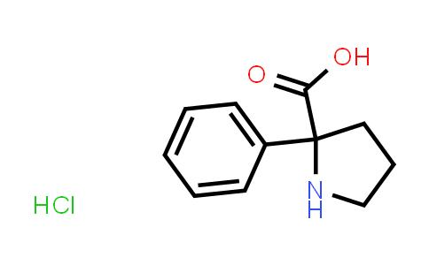 2-Phenylpyrrolidine-2-carboxylic acid hydrochloride