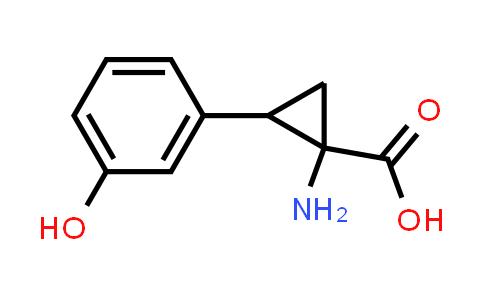 1-Amino-2-(3-hydroxyphenyl)cyclopropanecarboxylic acid