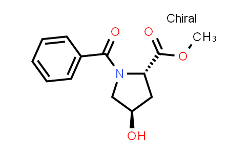 (2S,4R)-Methyl 1-benzoyl-4-hydroxypyrrolidine-2-carboxylate