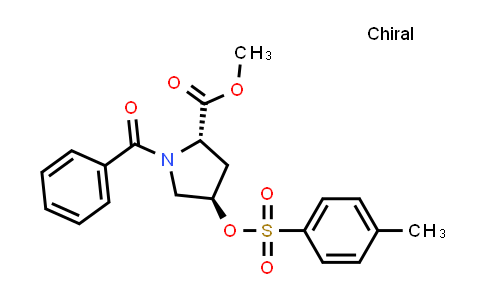(2S,4R)-Methyl 1-benzoyl-4-(tosyloxy)pyrrolidine-2-carboxylate