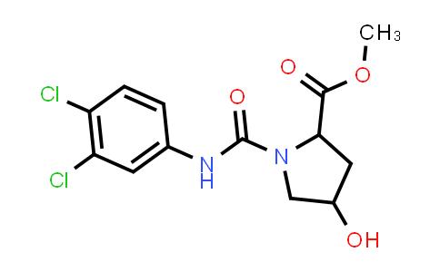 Methyl 1-((3,4-dichlorophenyl)carbamoyl)-4-hydroxypyrrolidine-2-carboxylate