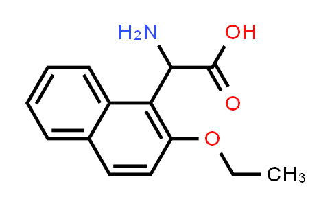 2-Amino-2-(2-ethoxynaphthalen-1-yl)acetic acid