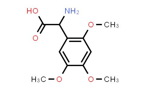 2-Amino-2-(2,4,5-trimethoxyphenyl)acetic acid