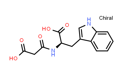 N-(2-Carboxyacetyl)-D-tryptophan