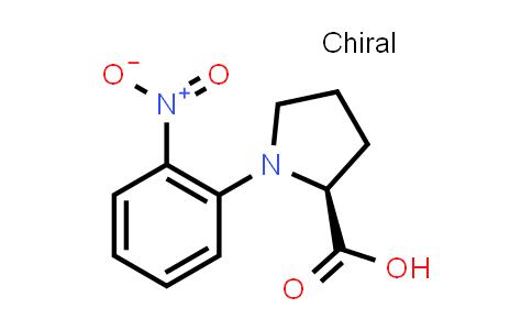(S)-1-(2-Nitrophenyl)pyrrolidine-2-carboxylic acid