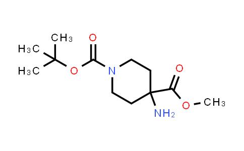 Methyl 1-Boc-4-Aminopiperidine-4-carboxylate